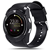 Hoteon V8 Bluetooth Smartwatch for Android Phone (Black)