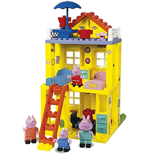Peppa Pig-The New Home, Construction Game (Simba 6063439)