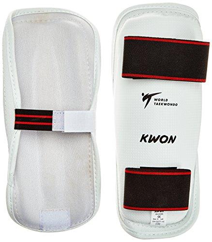 KWON Schienbeinschutz Wtf Schienbeinschutz Evolution, Weiß, XL, 4045504