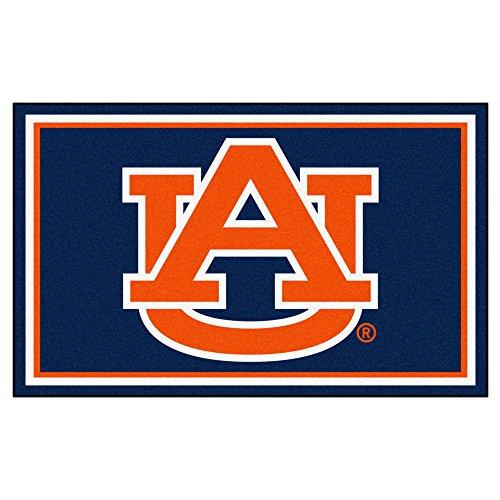 NCAA Auburn Universität 4x 6Teppich, 116,8x 182,9cm/klein, schwarz