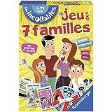 Ravensburger - 26624 - Jeu De Cartes - Des 7 Familles Incollables