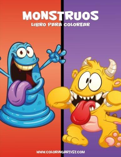 (Monstruos libro para colorear 1)