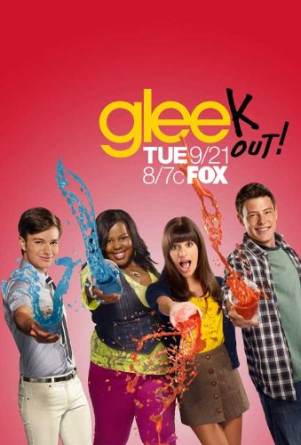 Click for larger image of Glee Poster TV S (11 x 17 Inches - 28cm x 44cm) Dianna Agron Chris Colfer Jessalyn Gilsig Jane Lynch Jayma Mays Kevin McHale