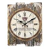 Wanduhr Lautlos Vintage, Likeluk 12 Zoll(30cm) Wanduhr Lautlos Uhr Uhren Wall Clock ohne Tickgeräusche