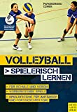 Volleyball spielerisch lernen: Vom 'Werfen und Fangen' zu Spiel '6 gegen 6'