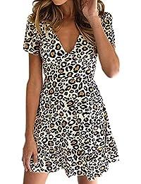 Vestido para Mujer, Vestidos Mujer Casual Verano 2019 Boho Vestidos Cortos Mujer Verano Vestido Playa Mujer Vestido de Playa Ropa de…