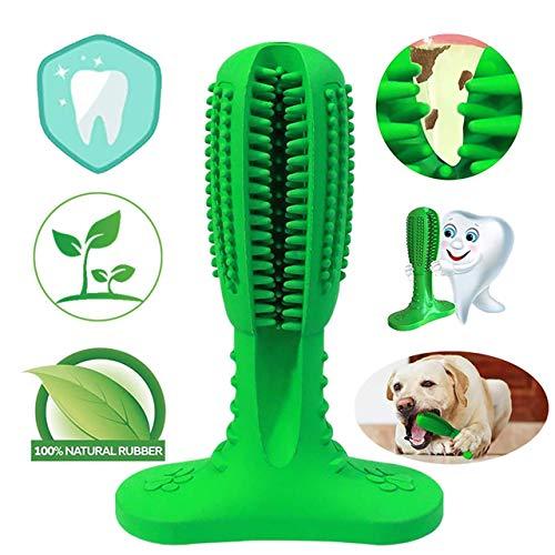 NUFOKG Hundezahnbürste Aggressive Kauspielzeug, langlebiger Gummi, Zahnbürste mit Zahnreinigungsborsten für kleine mittelgroße und große Hunde - Mittelgroße Hunde Hund Knochen Für