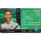 Rewe 2018 WM DFB Russland - Glitzer Einzelkarten Sammelkarten Auswahl Einzelner GlitzerKarten (12 - Niklas - Süle - Glitzer Einzelkarten)