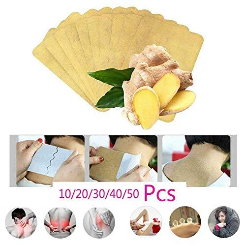 Lymphatic Detox Healing Ginger Patch, entzündungshemmende Schwellung und einfache Anwendung, 100{d941666223bc1521db15f69ecb87ba74f9c7766b69fb2b3dc7b750e28ea5f480} natürlicher Kräuter-Ingwer für die Fußgesundheit (50 PCS)