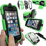 Coque Protection Robuste Antichoc Robuste pour téléphones et tablettes - Vert, Apple iPhone 6