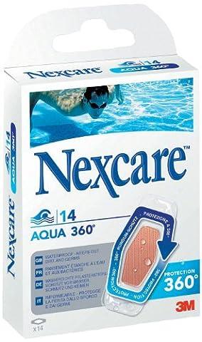 Nexcare N1214NSD Aqua 360 Grad Pflaster 26 x 57 mm,