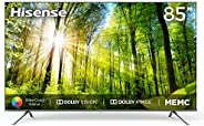 Hisense 85'' 4K Ultra HD TV Full Smart VIDAA3.0 HDR WIFI Bluetooth 5.0 Dolby Atoms (85A7500WF)