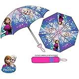 """Disney Frozen Paraguas Brolly """"nuevo diseño 2016"""" cerrado paraguas con funda"""