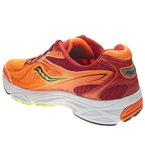 Saucony Chaussure de course Ride 8 pour Homme Red / Orange / Citron