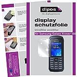 dipos I 6X Schutzfolie klar passend für Samsung Galaxy Xcover 550 Folie Displayschutzfolie