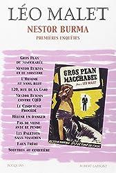 Nestor Burma : Premières enquêtes. Tome 1 des éditions des romans de Léo Malet