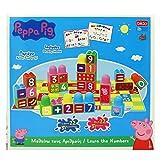 Bildo 8110 Peppa - Bloques de Cerdo con números