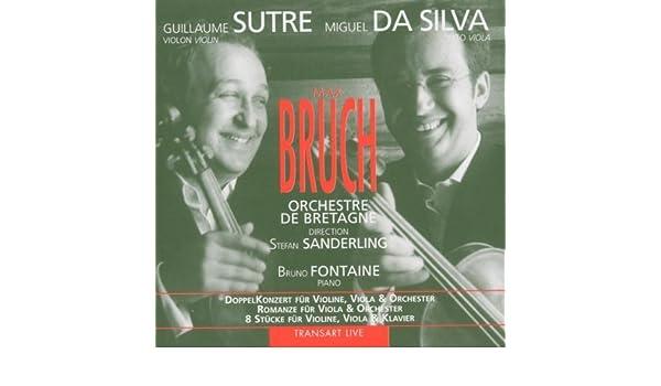 Max Bruch: Viola Concerto / Romance / 8 Pieces by Miguel da ...