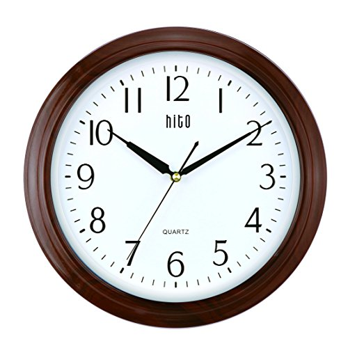 hito-extra-large-silent-non-ticking-wall-clock-glass-cover-13-inches