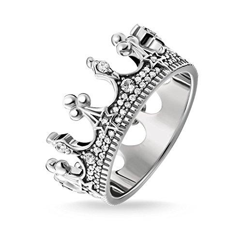 Thomas Sabo -Ringe 925_Sterling_Silber zirkonia Ringgröße 60 TR2224-643-14-60
