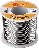 Fixpoint 51066 Rotolo Stagno per Saldatura, 250 gr, Argento, Diametro 1,00 mm