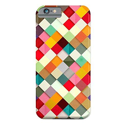 Cover iPhone 6s,TPU Gel Silicone Protettivo Skin Custodia Protettiva Shell Case Cover Per Apple iPhone 6 6S-Stelle Design ColorfulGrid