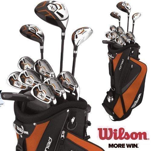 Wilson X31 MOI Ensemble de clubs de golf avec manche en graphite