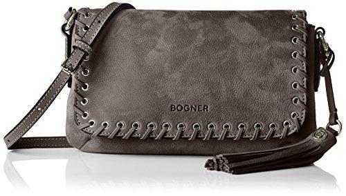 Bogner - Cissy, Borsa a tracolla Donna Grigio (Ash)