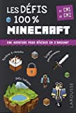 Les défis 100% Minecraft CM1-CM2- Cahier de vacances