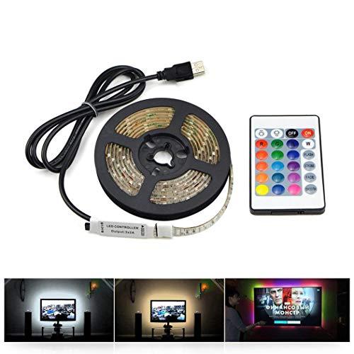 Tira LED multicolor con control remoto por sólo 3,38€ usando el #código: ZOFL8D44