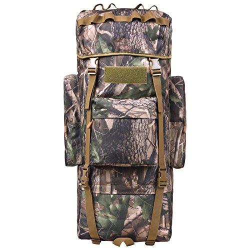 GOUQIN Outdoor Rucksack Klassische Mode Von Outdoor Dual Umhängetaschen 100 L Masse Klettern Taschen Wandern Paket Tasche C