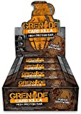 Grenade Carb Killa High Protein and Low Carb Bar, Fudge Brownie - 12 x 60 g