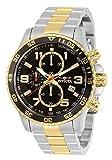 Invicta Specialty Men's Wrist Watch Stainless Steel Quartz Black Dial - 14876