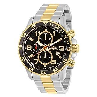 Invicta 14876 Specialty Reloj para Hombre acero inoxidable Cuarzo Esfera negro