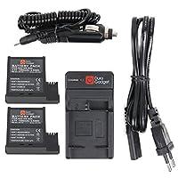 DURAGADGET vous présente ce chargeur externe pour PNJ AEE MagiCam S51, S71, S70+ / S70 et S77 SAUF S70 PRO Gamme S qui vous permet de recharger votre batterie ou vos batteries de rechange dans la voiture ou à la maison, grâce à ses adaptateurs secteu...