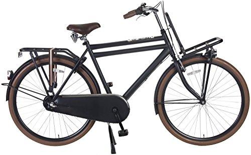 28 Zoll Popal Daily Dutch Basic+ 2810 Herren Holland Fahrrad 3 Gang, Farbe:schwarz, Rahmengröße:57cm