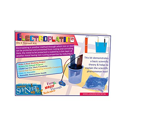 Junior Scientist Learning & Educational Toys Junior Scientist Electroplating Kit
