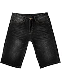 iLoveSIA® Homme Jeans Denim Shorts Jean court Jean Coupe Droit