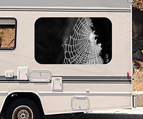 3d-autoaufkleber-spinnennetz-spinne-tau-netz-mond-schwarz-wei-wohnmobil-auto-kfz-fenster-sticker-auf