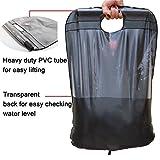 Ailiebhaus Portable 20L PVC Outdoor Camping Solarenergie Shower Bag Solardusche Wasser Beutel (Schwarz) - 5