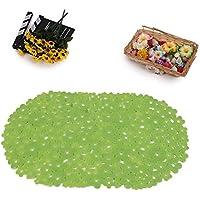 GFYWZ Casa tappetini da bagno antiscivolo , green , 36*69cm