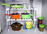 #10: Syga Kitchen rack two layer Stainless steel organizer