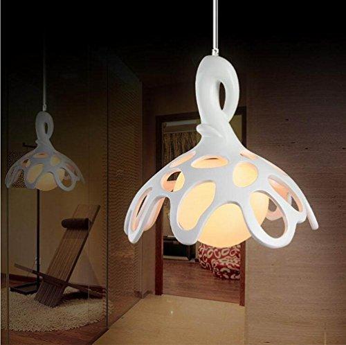 KHSKX Bar-caffetteria resina Lampadario moderno minimalista salotto creativo studio Lampada lampadario monotesta acqua bloom 220V