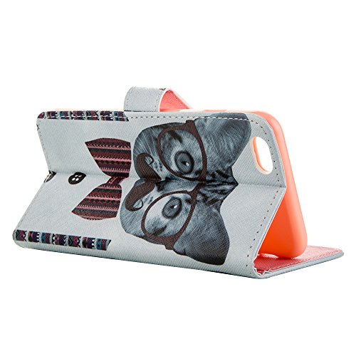"""MOONCASE Housse pour iPhone 6 Plus (5.5"""") Protection Cuir Portefeuille Case Coque en Housse de Étui à rabat [Série Motif] /a21 a10"""