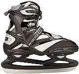 Nijdam, Pattini da hockey su ghiaccio Unisex adulto Pro-Line, Nero (schwarz silber), 48