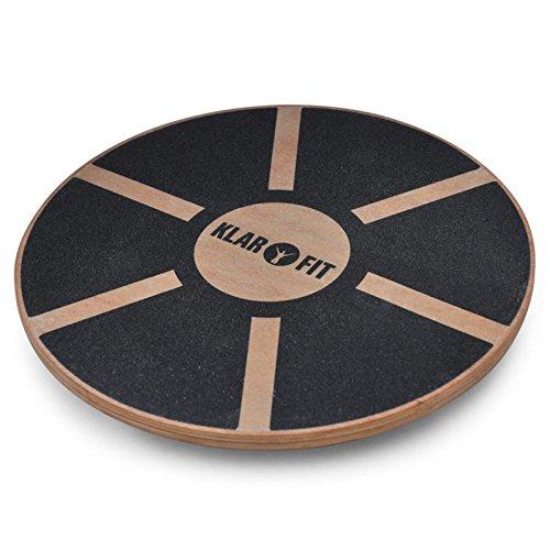 Klarfit Balanceboard Fit-BRD2, schwarz, 10004630 (übung Balance-halbkugel)
