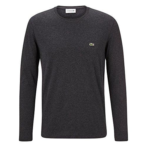 Lacoste TH2040 Herren T-Shirt Langarm,Männer Basic Tshirt,Tee,Freizeit und Sport,Regular Fit,Baumwolle,Lightning Chine(EL6), XX-Large (7)