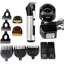 OFTEN Rechargeable Sans Fil Amovible Universel Tondeuse à cheveux Rasage Coiffure Professionnel Trimmer Shaver avec 4 Niveaux de Peigne (3mm, 6mm, 9mm, 12mm)