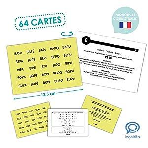 Akros 20023FR - Tarjetas de Logotipos con Todos los Juegos de Aprendizaje
