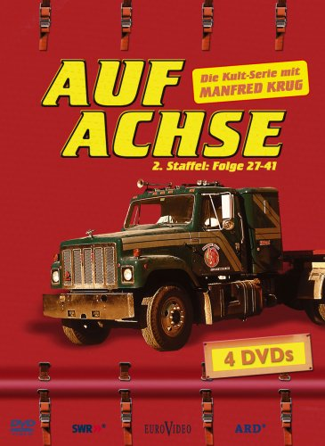 Auf Achse - Staffel 2.2 (Folge 27-41, Softbox, 4 DVDs) -